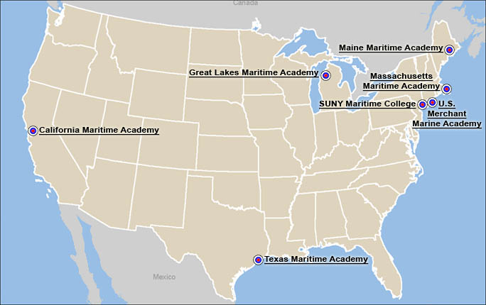 Image of map of Academies