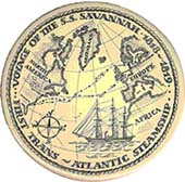 maritime seal of The Voyage of the Savannah